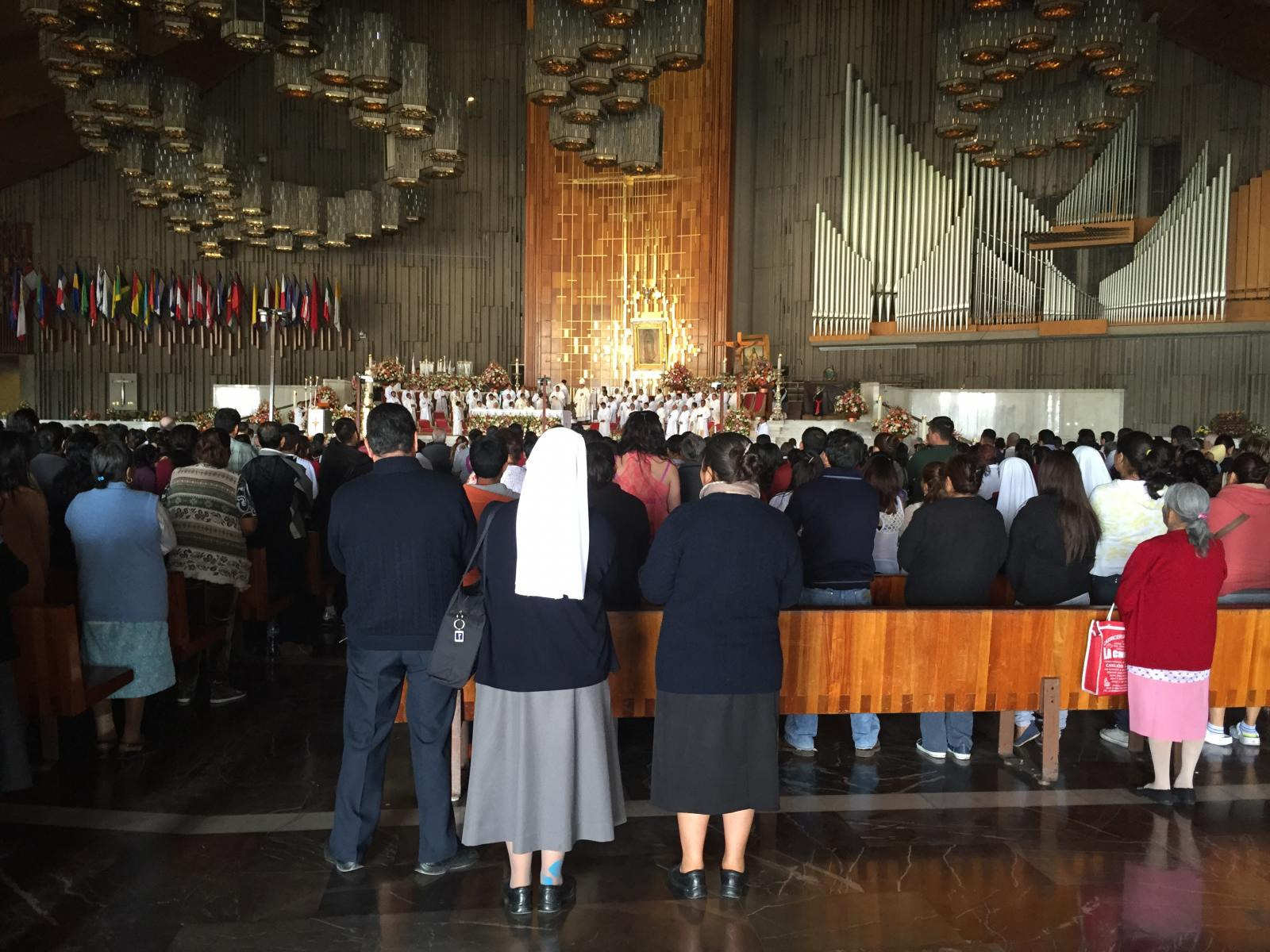 Mass at Our Lady of Guadalupe